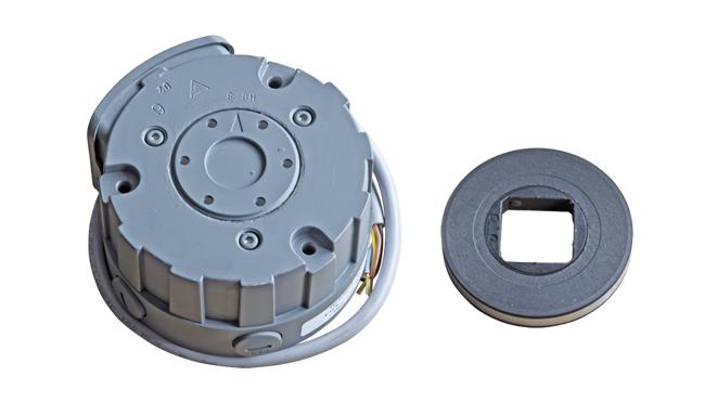 Binder grey AC brake